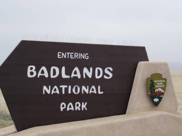 badlands-sign