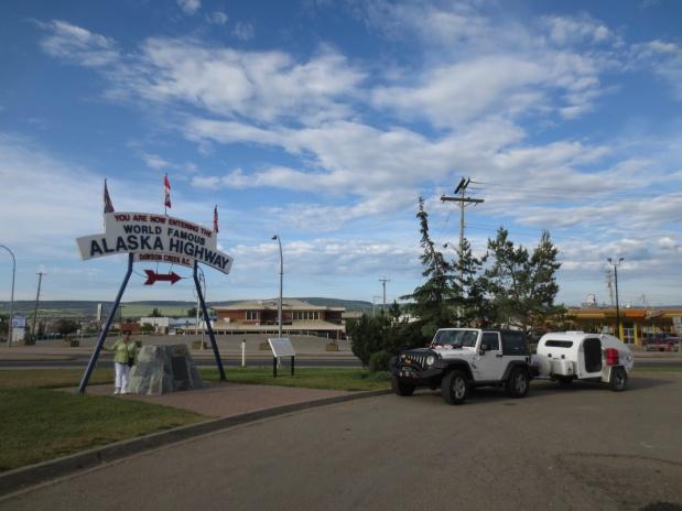 …da Florida ao Alaska, guiando um Jeep com uma Caravana!.(7)