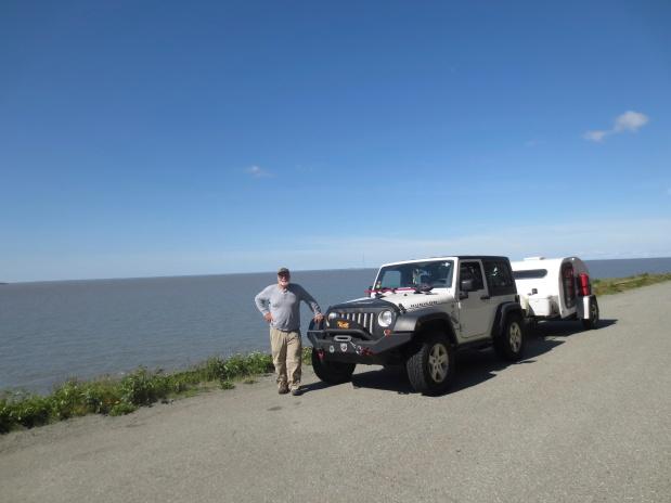 …da Florida ao Alaska, guiando um Jeep com uma Caravana!.(12)