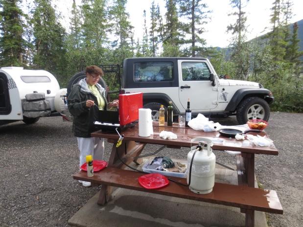 …da Florida ao Alaska, guiando um Jeep com uma Caravana!. (16, 17,18)