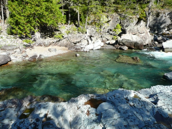 04.09.2010 Glacier National Park, McDonald Valley, Avalanche Creek