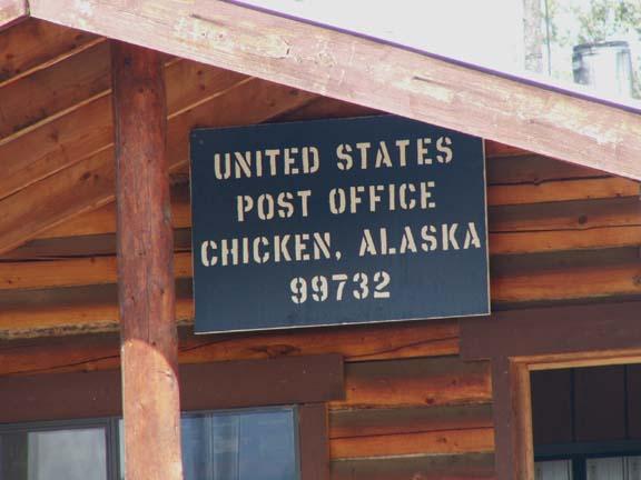 w a chicken po sign