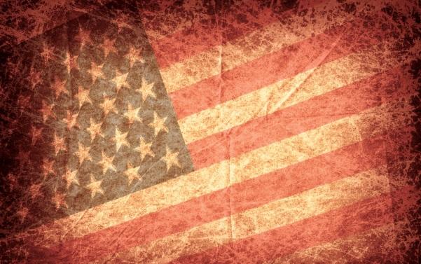 Grunge-Flag