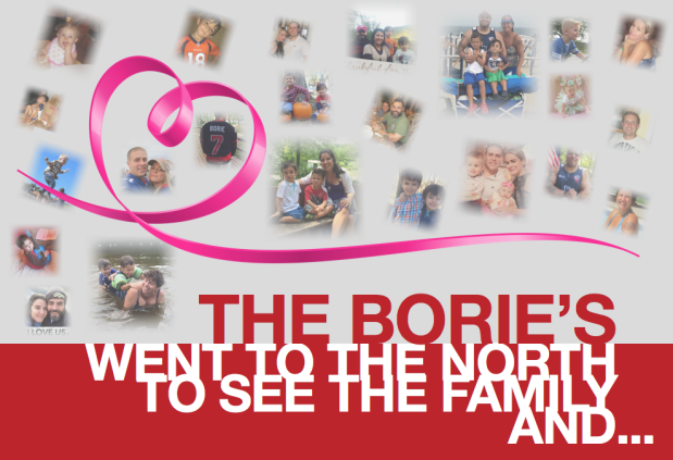 The Borie's went to the north to see the family, and…(Part1)