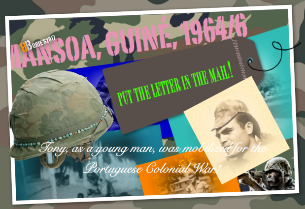 …put the letter in the mail…in thewar!.