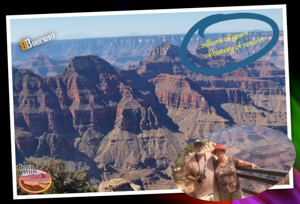…we walked in the Grand Canyon!