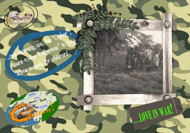 …love in war!